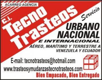 TRASTEOS Y MUDANZAS LOCALES, NACIONALES  315 549 0852