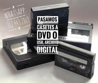 Bogota Pasar Betamax, Vhs A Dvd O Usb Transfer