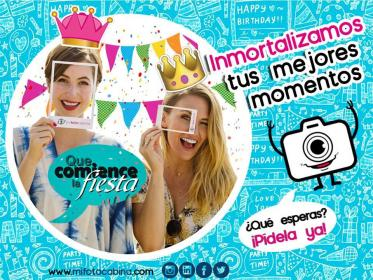 Mi Fotocabina - Fotocabinas para Eventos Bogotá