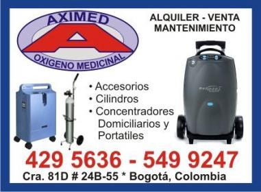 AXIMED Oxigeno Medicinal