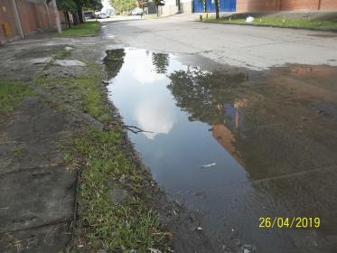 Agua estancada
