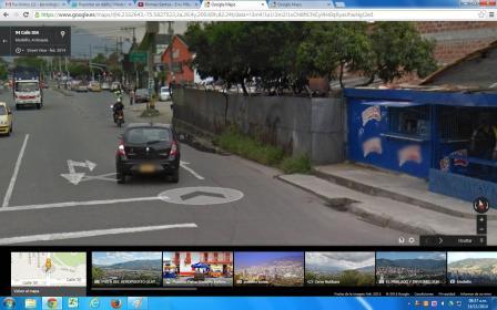 Falta de sendero peatonal