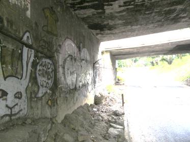 Puente en mal estado